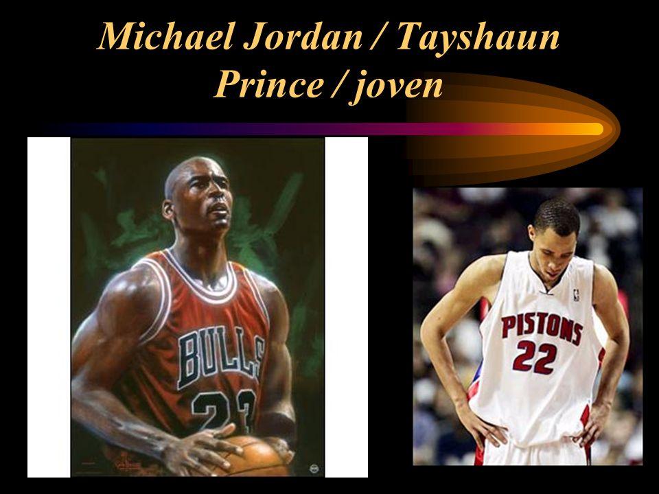 Michael Jordan / Tayshaun Prince / joven