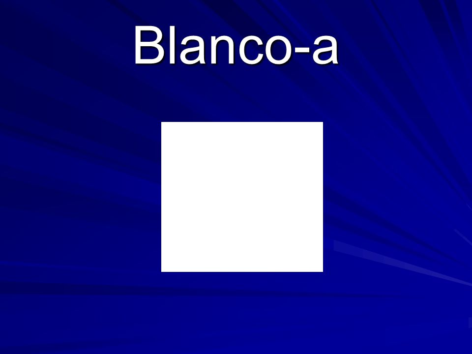 Blanco-a