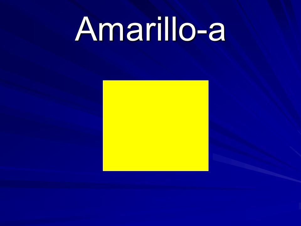 Amarillo-a