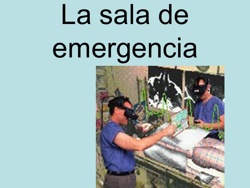 La sala de emergencia