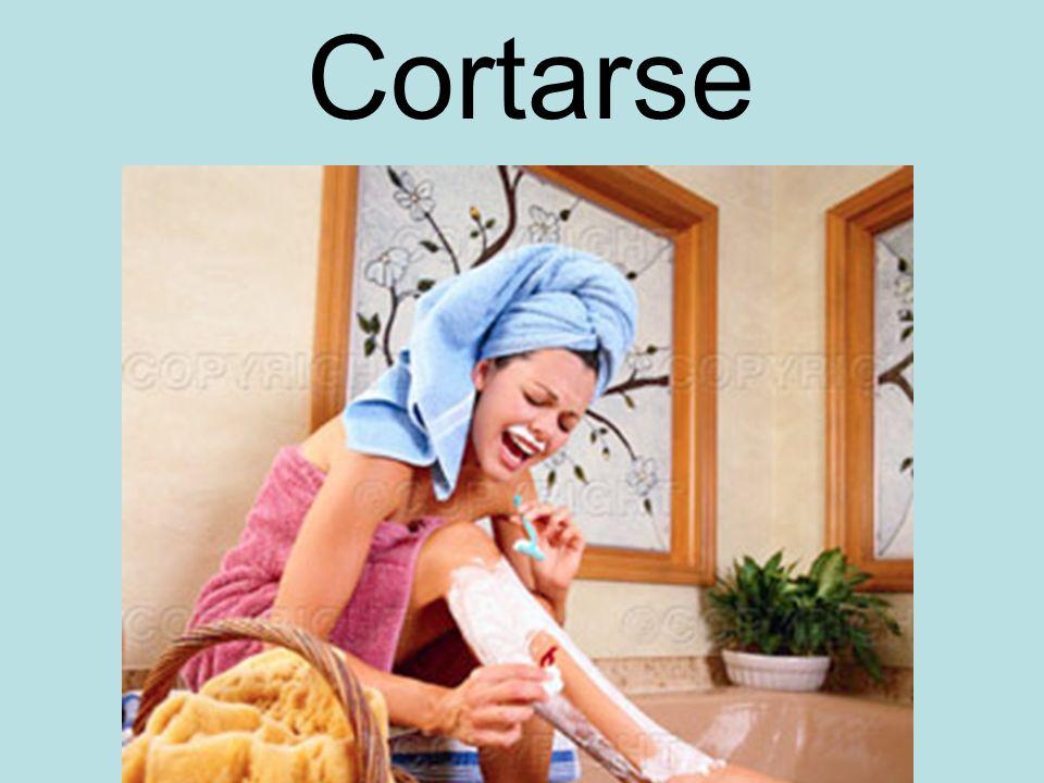 Cortarse