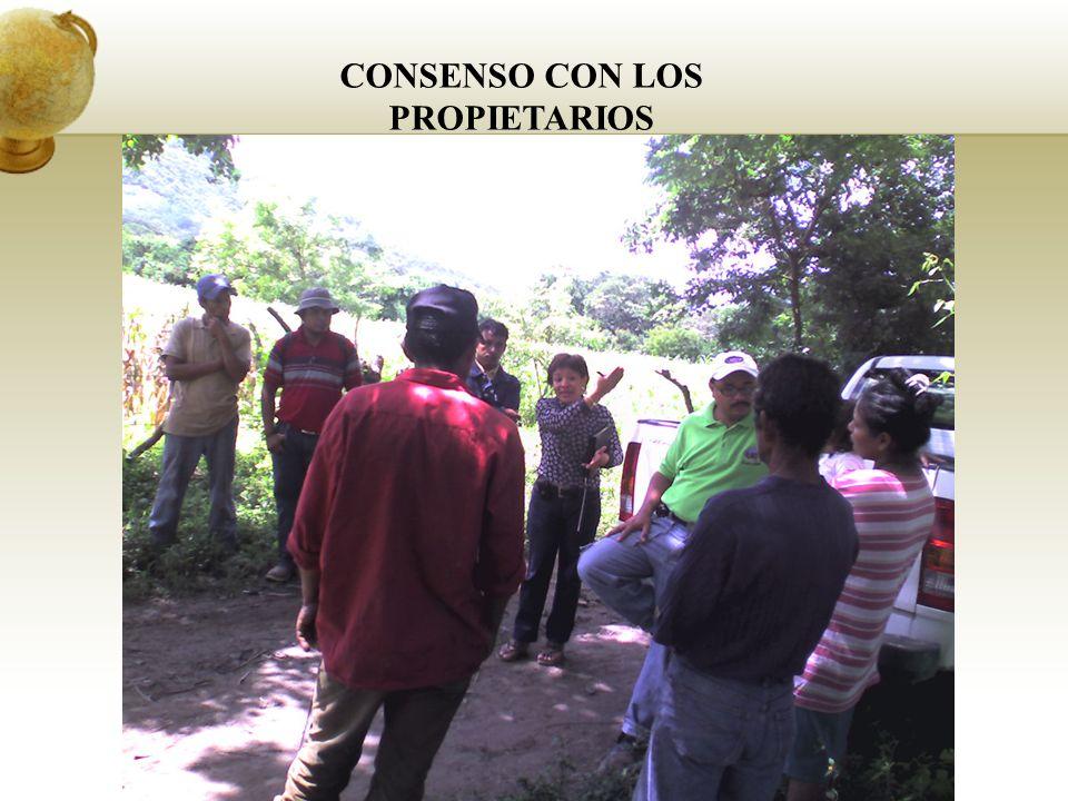 CONSENSO CON LOS PROPIETARIOS