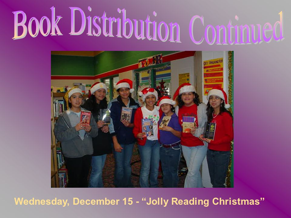 Wednesday, December 15 - Jolly Reading Christmas