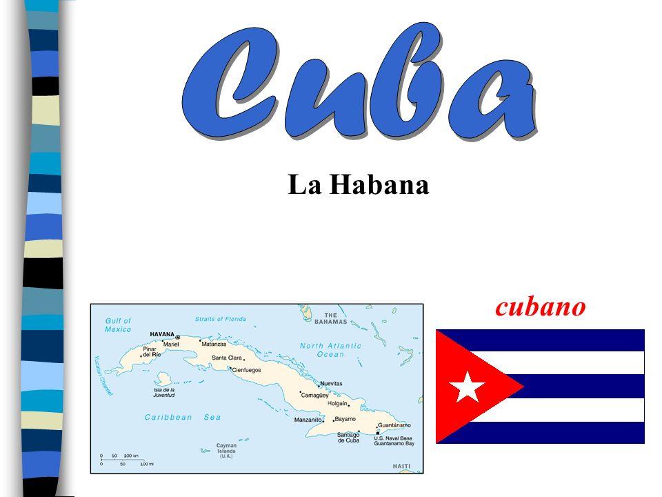El Caribe Cuba Puerto Rico La República Dominicana