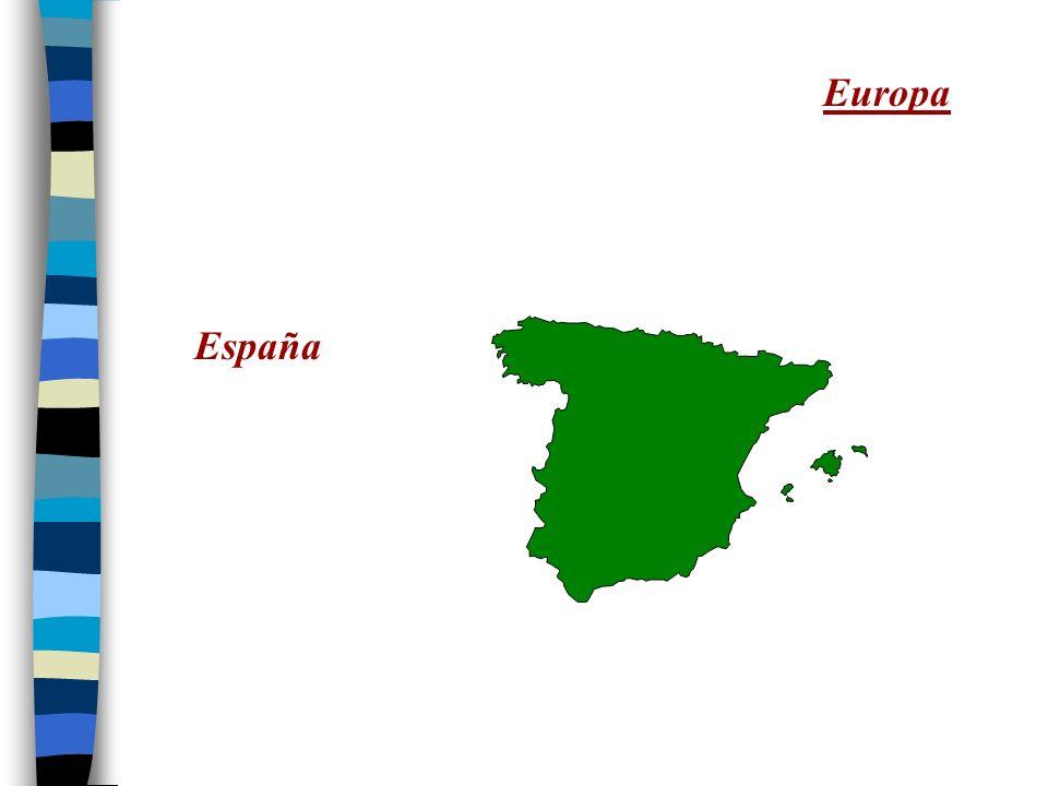 México y la América Central La América del Sur España Cuba La República Dominicana Puerto Rico El Caribe