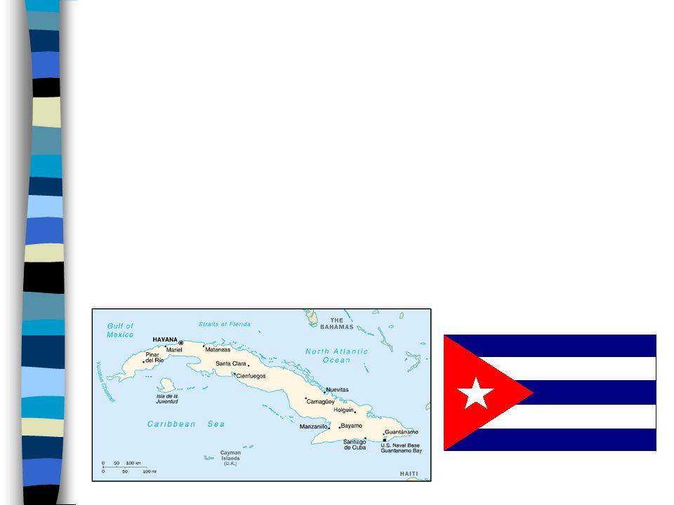 Cuba Puerto Rico La República Dominicana