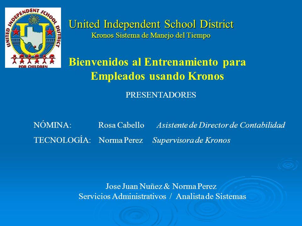 United Independent School District Reloj Kronos Teclado de Funciones Teclado Numérico Tecla de Ingreso Tecla de Ingreso Escáner Biometrico Pantalla Informativa