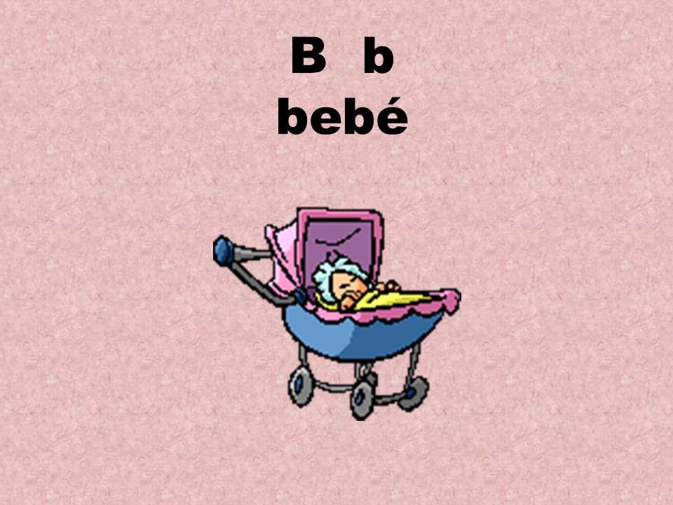 B b bebé