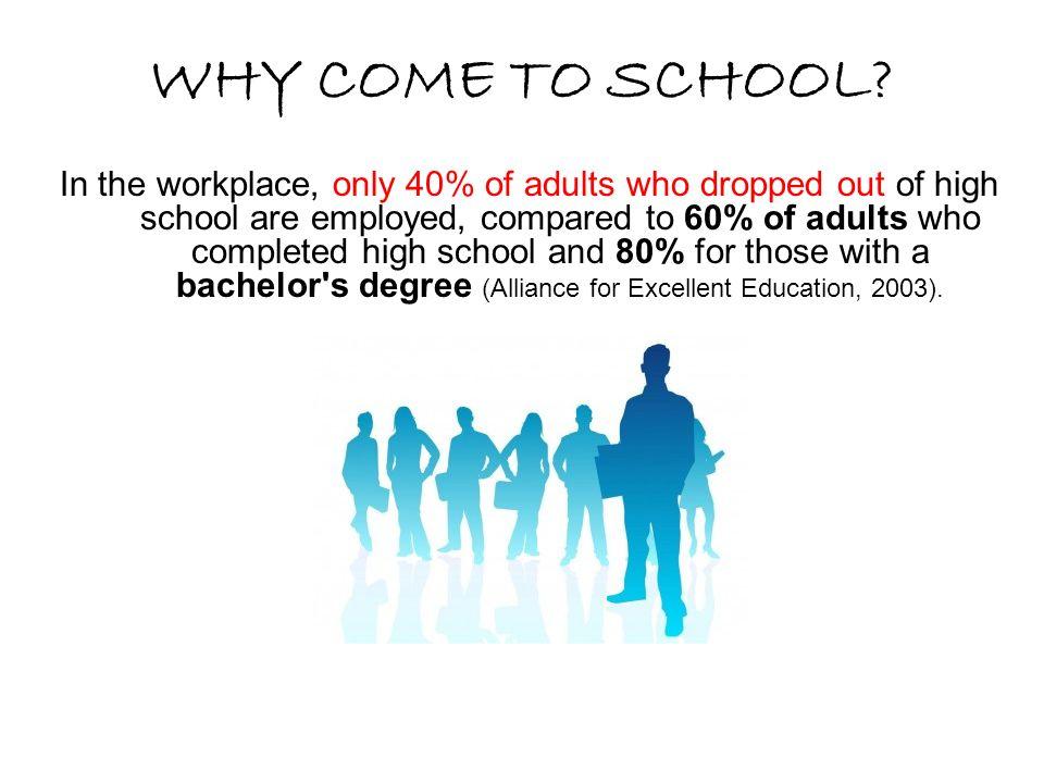 ¿Por que asistir a la escuela.