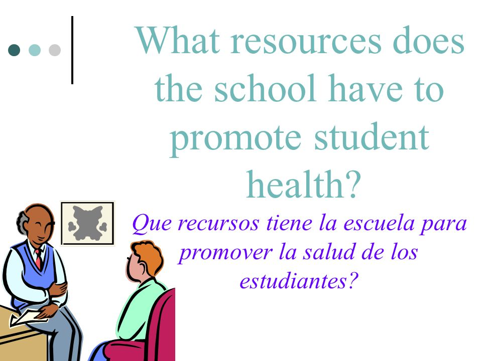 What resources does the school have to promote student health.