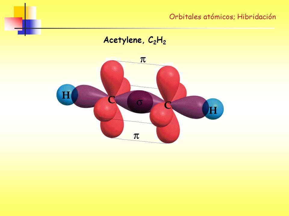 Acetylene, C 2 H 2