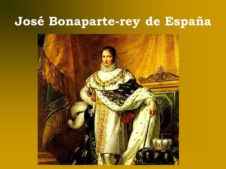 José Bonaparte-rey de España
