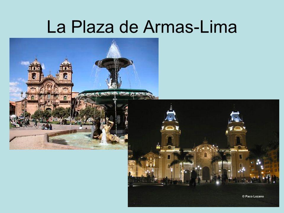 La Plaza de Armas-Lima