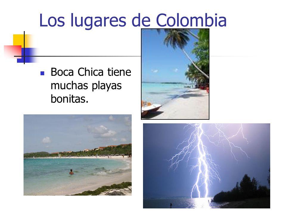 Los lugares de Colombia Boca Chica tiene muchas playas bonitas.