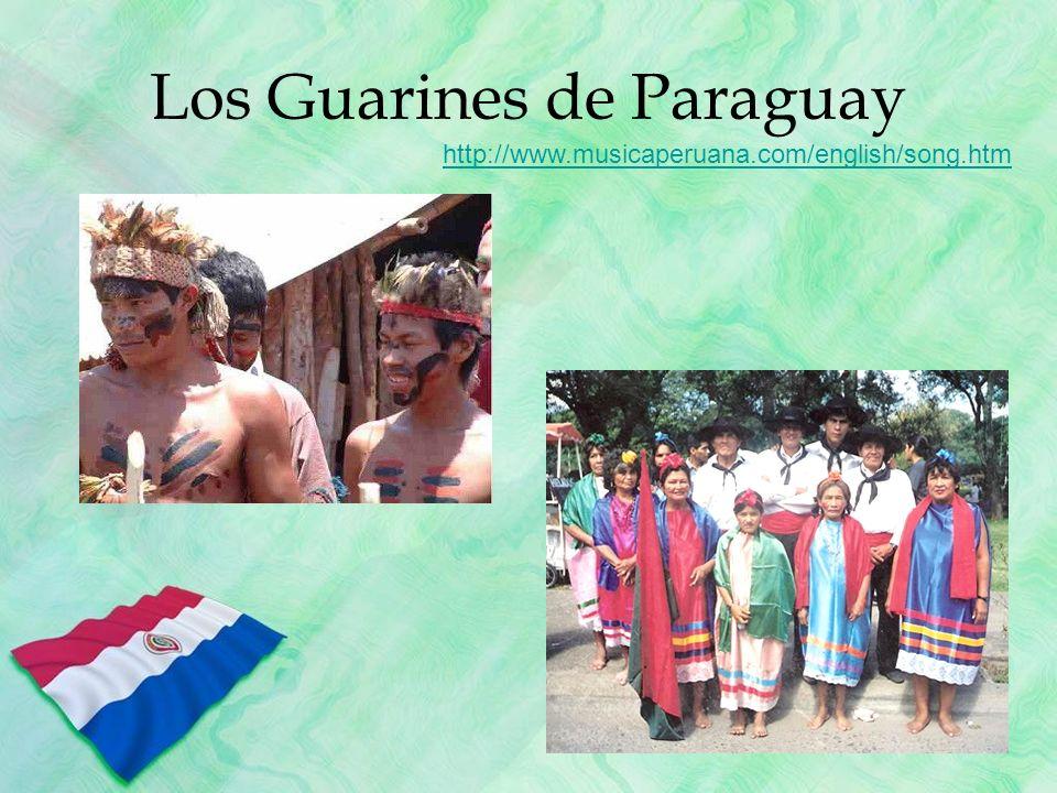 Los Guarines de Paraguay http://www.musicaperuana.com/english/song.htm