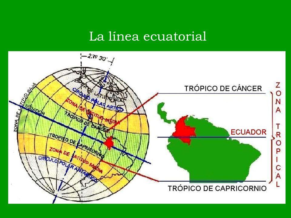 La línea ecuatorial