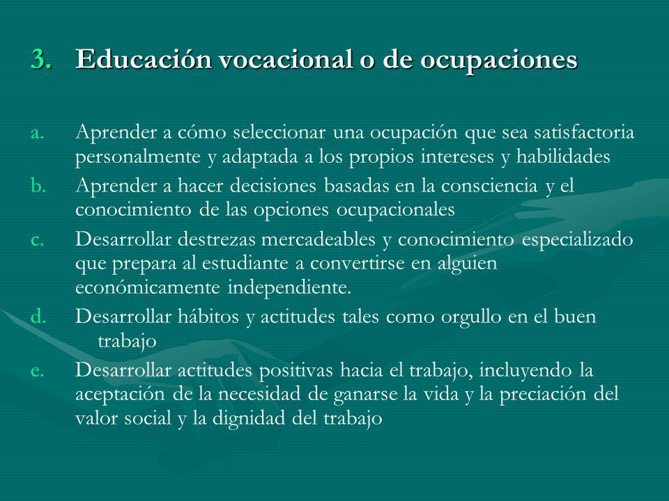 C. Objetivos Sociales, Cívicos y Culturales
