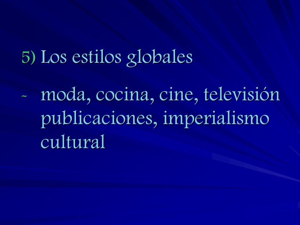 6)El Nacionalismo Cultural A.El choque de Civilizaciones: ( (The Clash of Civilizations de Samuel Huntignton) 1)La política global de las civilizaciones a.Islam y Occidente b.Asia, China B.El Futuro de las Civilizaciones