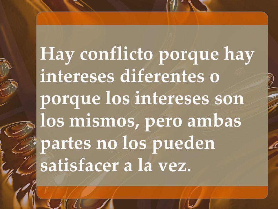 El conflicto puede ser positivo cuando: -Alerta a la existencia de descontento -Provee oportunidad de cambio -Produce ganancias -Fomenta la unidad y el entendimiento -Produce cambios de conducta