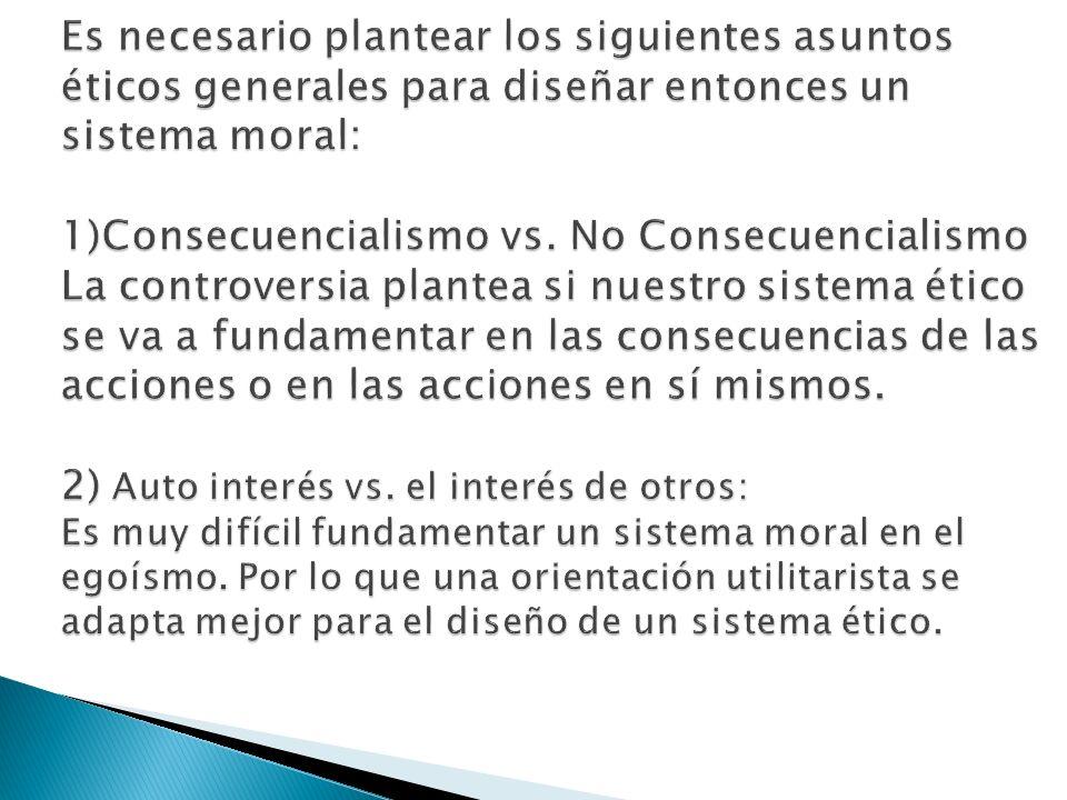 3) Las acciones versus las reglas.