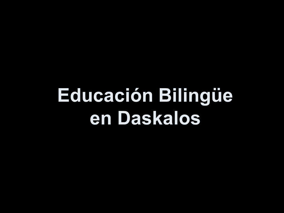 Educación Bilingüe en Daskalos