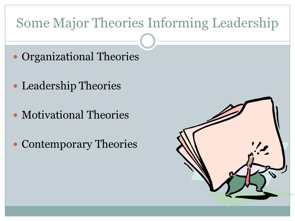 Ways of Studying Leadership Traits Behavior Contingency Situational