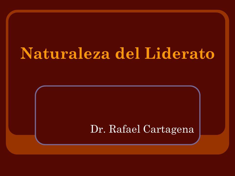 Naturaleza del Liderato Definiciones Variadas: - Liderato es el proceso de influenciar las actividades de un grupo para conseguir unas metas.