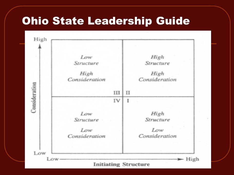 Ohio State Leadership Guide