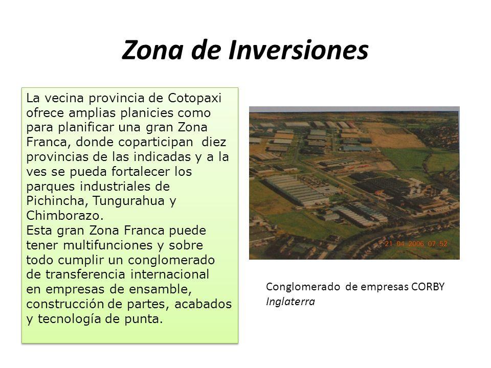 De seis a siete mil hectáreas. Área geográfica de inversión.