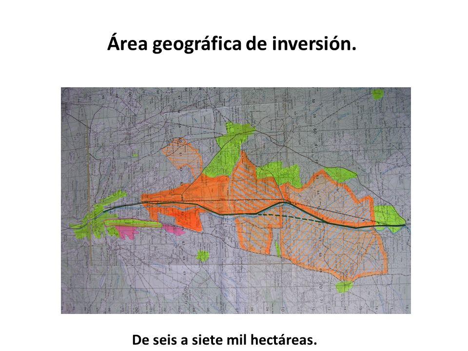 Futuras áreas de expansión del Aeropuerto Cotopaxi Una segunda pista 900 hectáreas adicionales