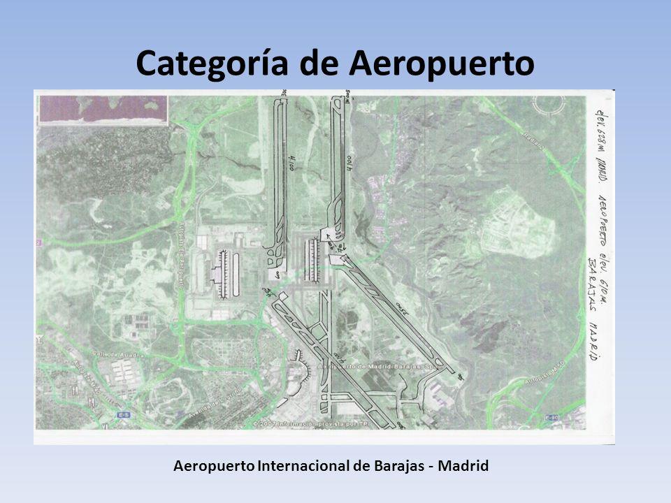 Categoría de Aeropuerto Aeropuerto Internacional de Barajas - Madrid