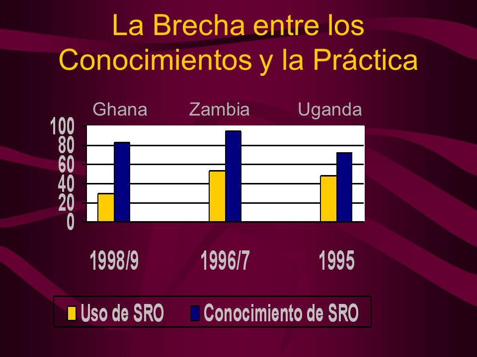 La Brecha entre los Conocimientos y la Práctica Ghana Zambia Uganda