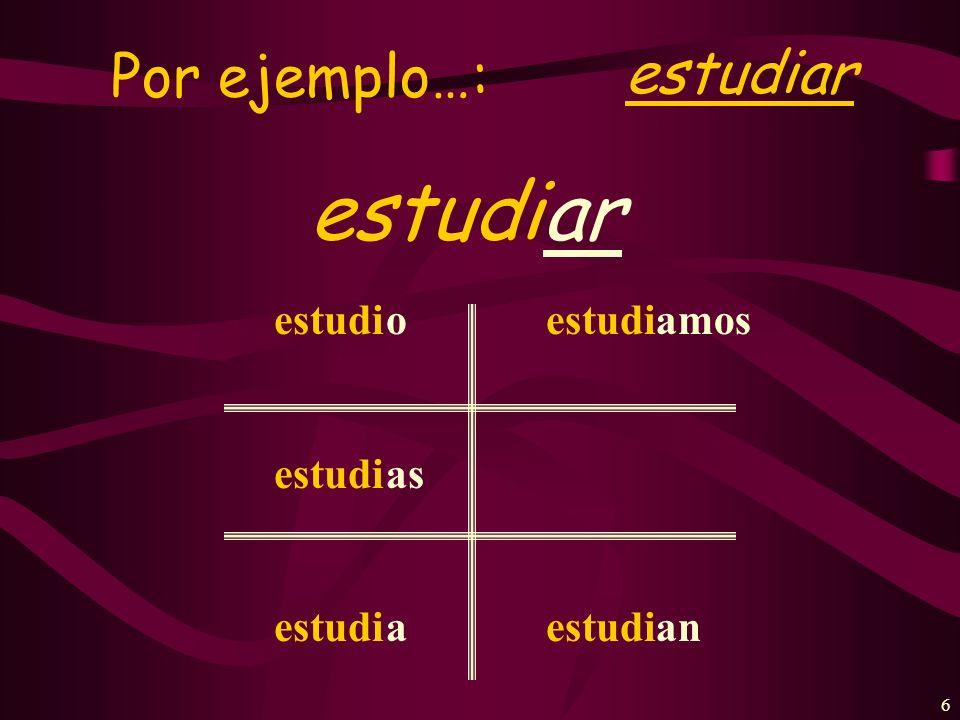 26 ¿Cómo se dice en español.I answer a question in class.