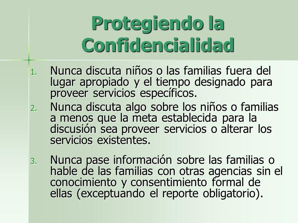 Protegiendo la Confidencialidad 1.