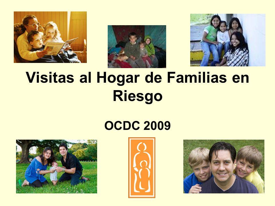 Visitas al Hogar de Familias en Riesgo OCDC 2009