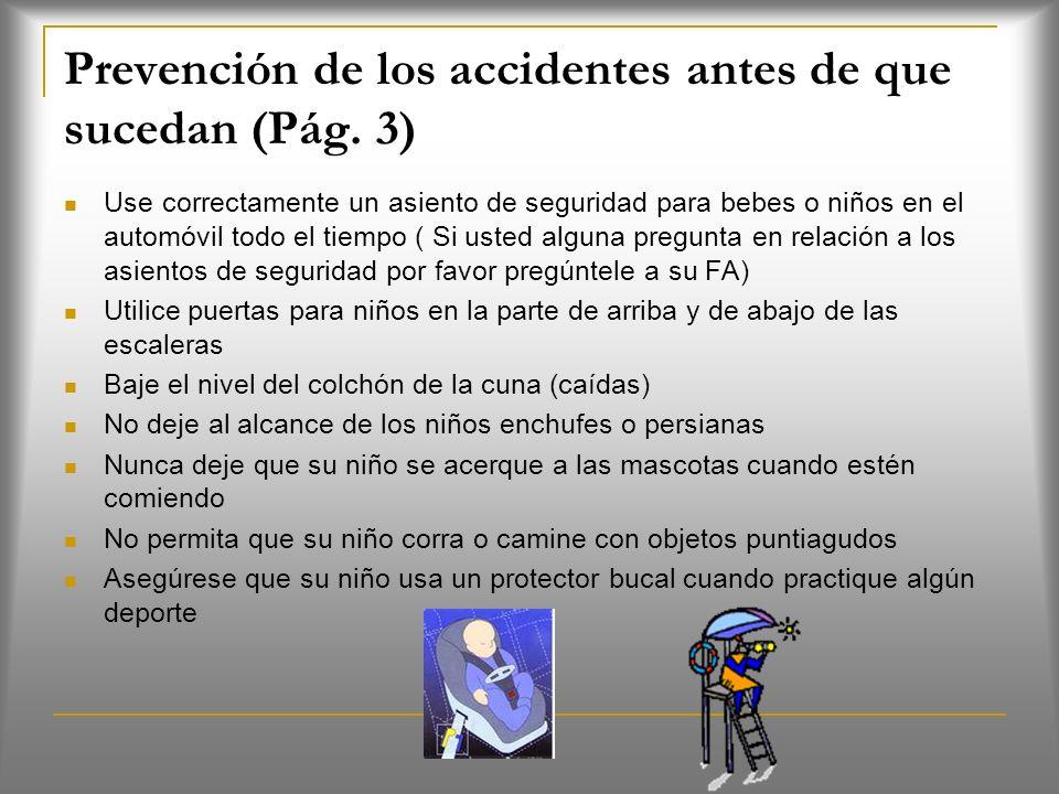 Prevención de los accidentes antes de que sucedan (Pág.