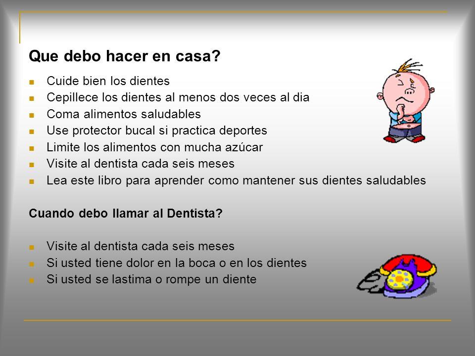 Síntomas de la Caries Dental Dolor de diente, sobre todo después de consumir bebidas o alimentos dulces, fríos o calientes Huecos o agujeros visibles en los dientes Manchas cafés sobre las superficies de los dientes Inflamación e infección