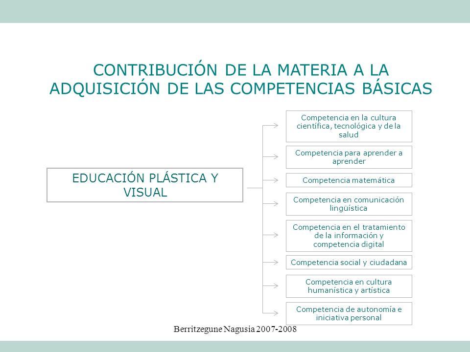 Berritzegune Nagusia 2007-2008 Competencia en la cultura científica, tecnológica y de la salud Competencia social y ciudadana Competencia matemática C