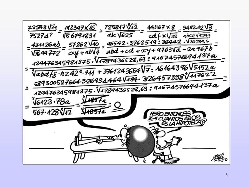 14 Nuevas matemáticas.