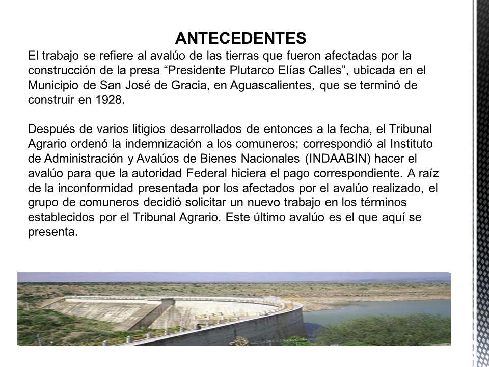 ÍNDICES NACIONALES DE PRECIOS AL CONSUMIDOR ÍNDICES DE PRECIOS AL MAYOREO ARCHIVOS DE LA PRESIDENCIA DE LOS BIENES COMUNALES DE SAN JOSÉ DE GRACIA ANTECEDENTES HISTÓRICOS EXPERTOS EN VALUACIÓN DE INMUEBLES AGROPECUARIOS