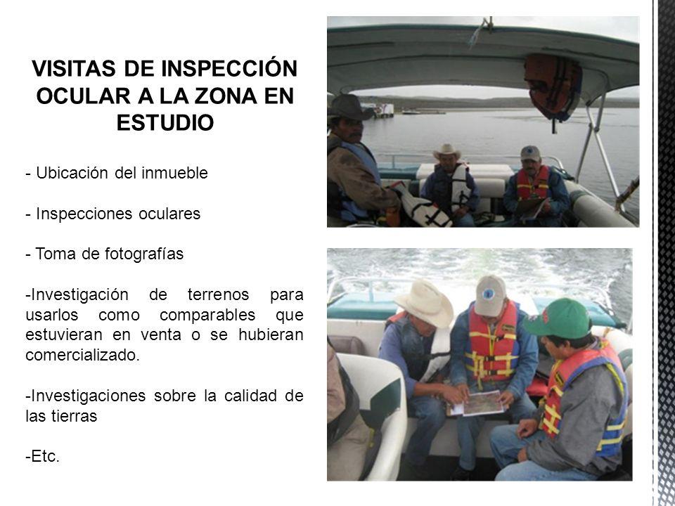 - INMOBILIARIAS - PERIÓDICO - INTERNET - ENTREVISTAS CON OTROS VALUADORES - ETC.