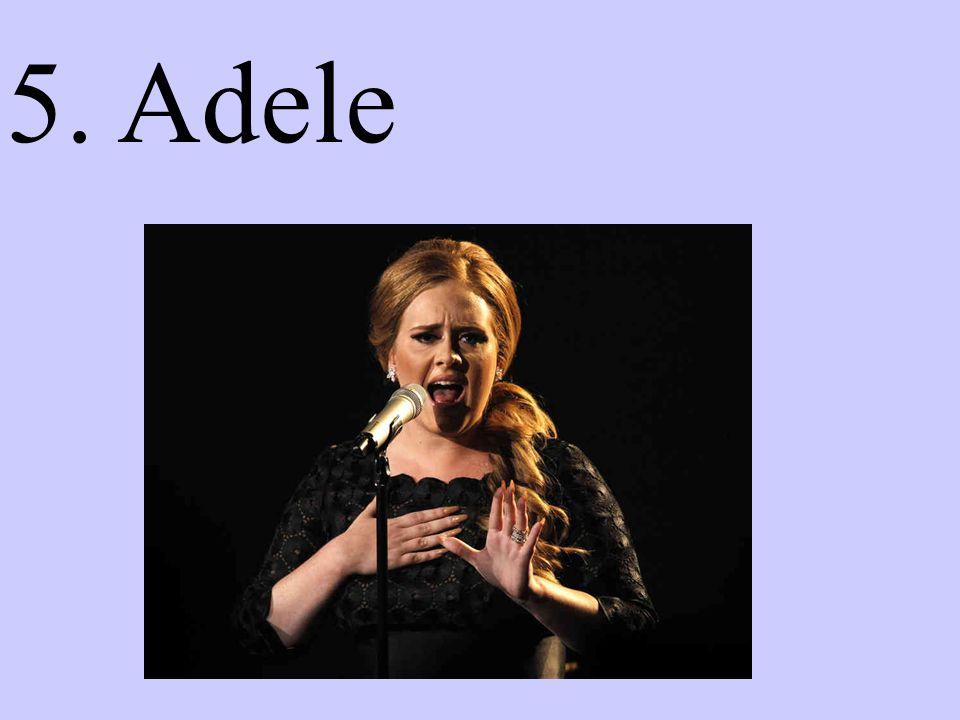 5. Adele