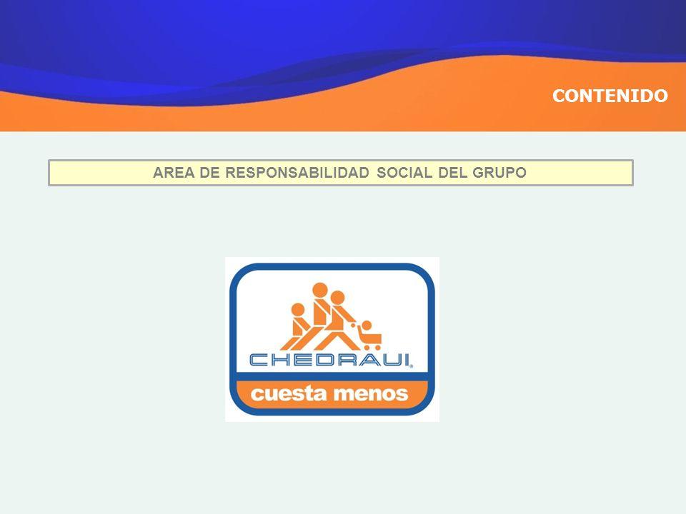 CONTENIDO AREA DE RESPONSABILIDAD SOCIAL DEL GRUPO