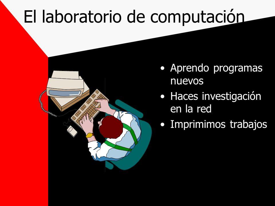El laboratorio de ciencias Hace experimentos Estudia ciencias Estudia química o física Aprende fórmulas