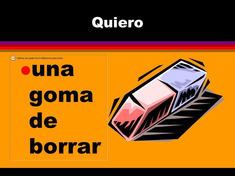 ¿Tú necesitas... l un libro de español