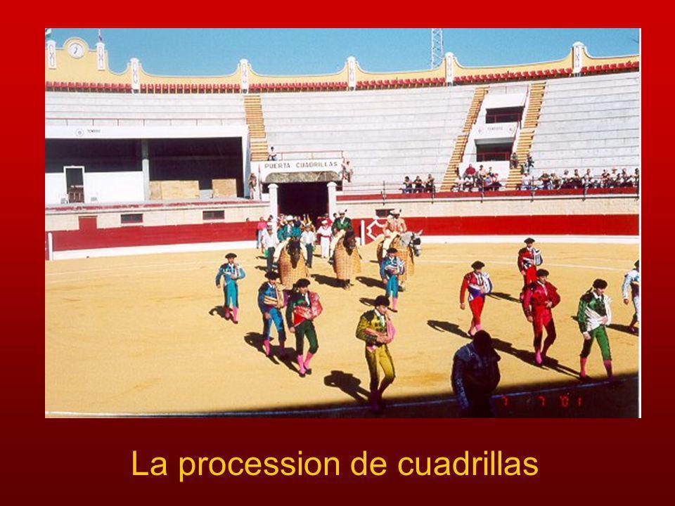 La procession de cuadrillas