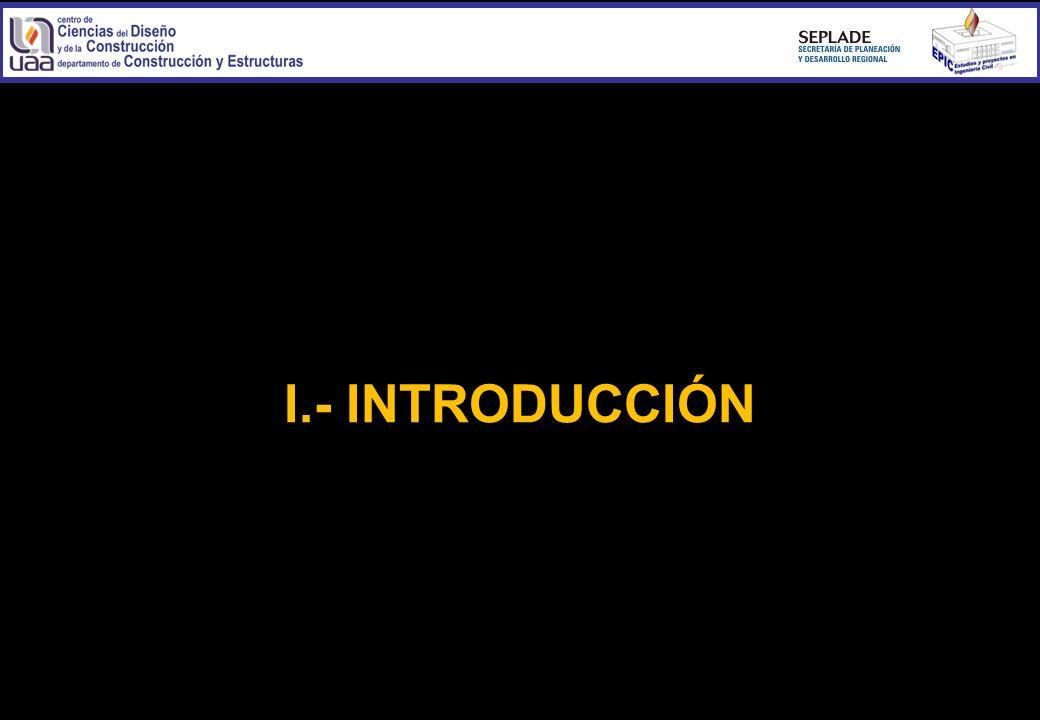 I.- INTRODUCCIÓN