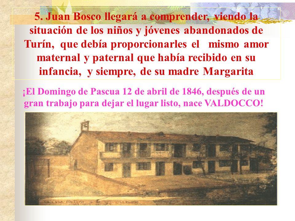 Palabras a Juan Bosco sacerdote Turín 5 de junio de 1841. En la capilla del Arzobispado, Juanito Bosco, por la imposición de manos del obispo Luis Fra