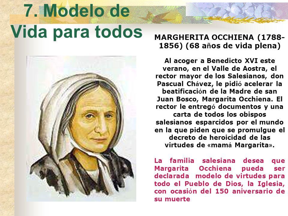 6. Mamá en el Oratorio En noviembre 1846 lleg ó a la casa de Valdocco. Y ya no sali ó de all í. Fue su mayor sacrificio, el m á s doloroso. Pero Dios