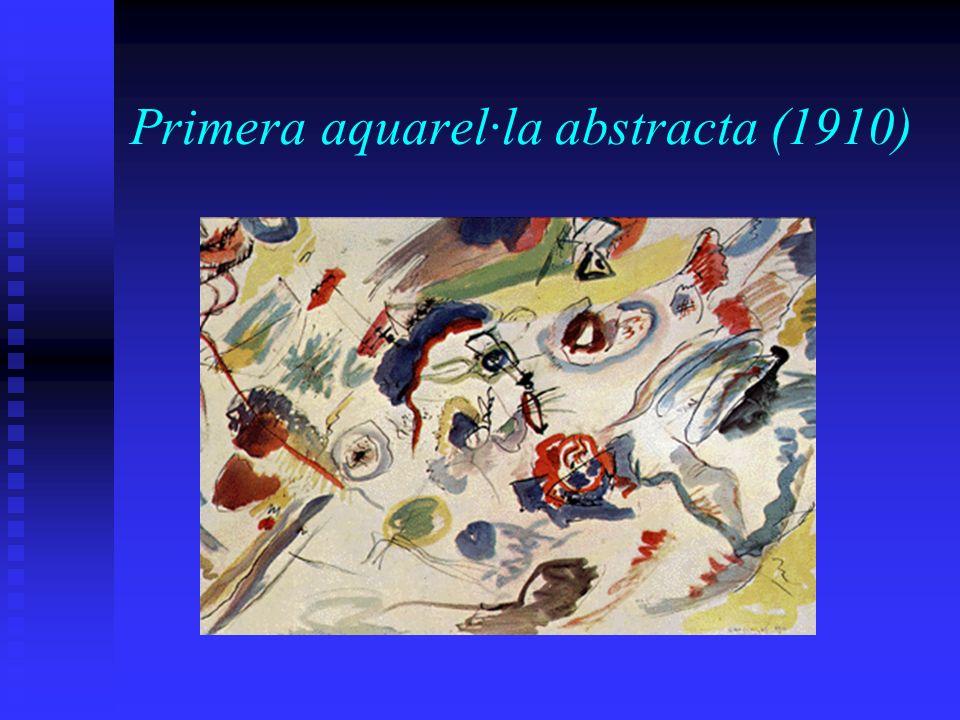 Primera aquarel·la abstracta (1910)